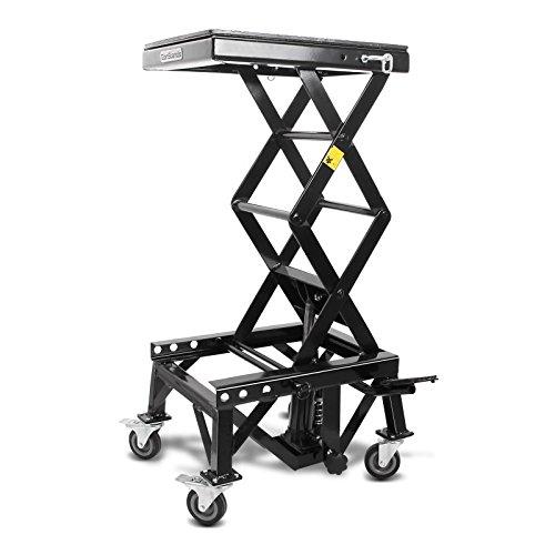 ponte-sollevatore-idraulico-constands-moto-cross-xl-ruote-nero