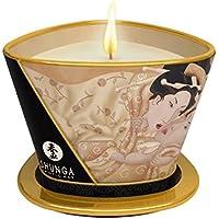 Shunga Vela de Masaje Desire, Aroma de Vainilla, Color Blanco - 170 ml