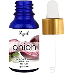 Ryaal Onion Oil 100% Pure, Best Therapeutic Grade Essential Oil (15ML)