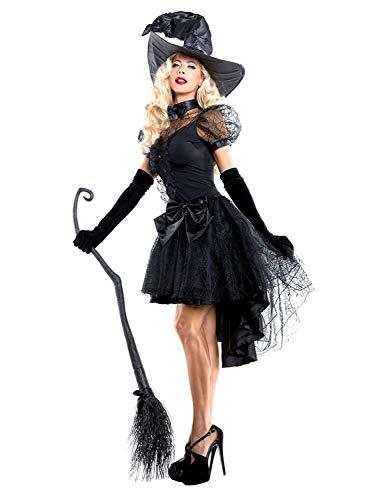 XINSH Disfraz Halloween Bruja Mujer Costume Cosplay