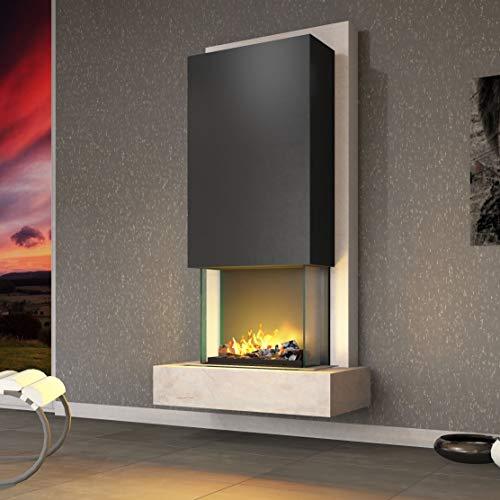 Muenkel Design Arco - Opti-Myst Chimenea Eléctrica Estufa Chimenea - con Calefacción Engine 56 ...