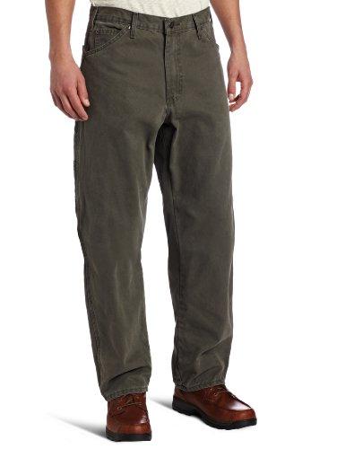 Preisvergleich Produktbild Dickies 40in. X 30in. Rinsed Green Moss Relaxed Fit Sanded Duck Carpenter Jeans DU3