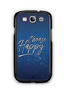 YuBingo Choose Happy Designer Mobile Case Back Cover for Samsung Galaxy S3