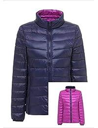 Amazon.it  Piumino double face - Giacche e cappotti   Donna ... 0a832d6616c