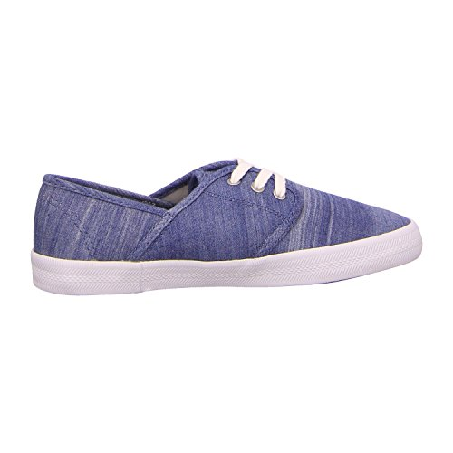 Roxy Damen Hermosa Lace Up Shoes Sneakers Light Blue