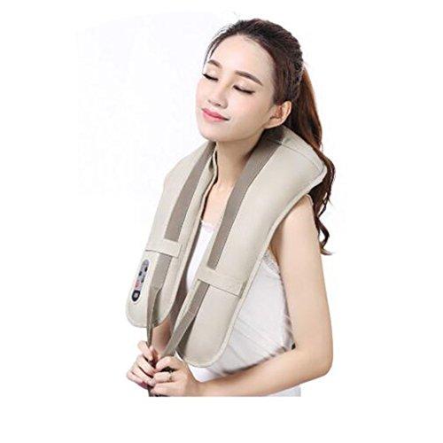 Yb- hot sale collo massaggiatore bussola elettrica portatile massaggio cervicale scialli dolore collo e spalla massaggiatore massaggiante (colore : a)