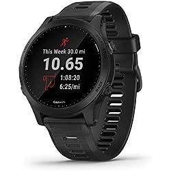 Garmin GPS Reloj/ELVTE.Garmin FR945 Negro Mano Ciclismo Unisex Adulto, Talla Única