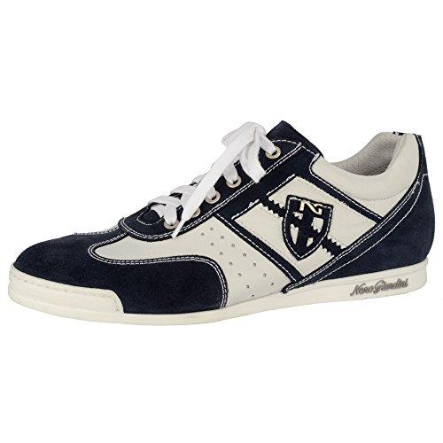 Nero Giardini , Damen Sneaker Elfenbein Bianco 15 weiß / blau