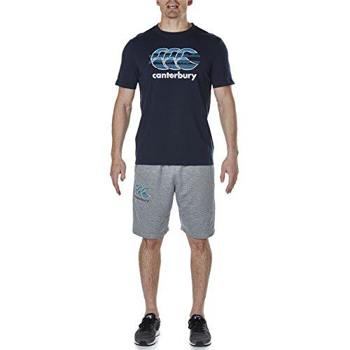 Canterbury Herren Vapodri Ccc Logo T-Shirt total eclipse