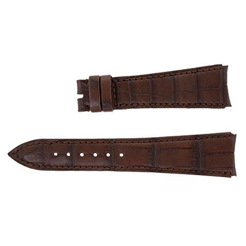 audemars-piguet-22-16-mm-vera-pelle-coccodrillo-marrone-orologio-da-uomo-band