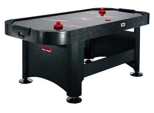 BCE Mens Viper Air Hockey Table - Black, 6-Inch