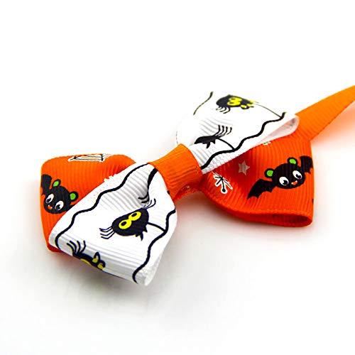 Halloween Deko Grusel Dekoration Set Halloween Haustier Fliege Bogen 1er Pack für Halloweendeko Make-up-Party Halloween Dekoration