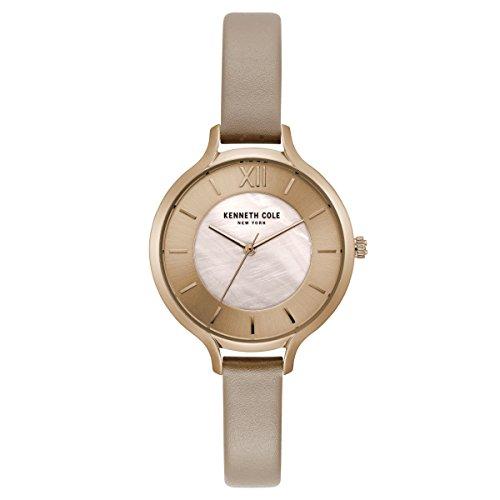 Kenneth Cole New York da donna orologio da polso analogico al quarzo in pelle kc15187004