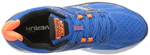 Saucony Herren Omni 15 Laufschuhe Blau (Blue/orange/black)