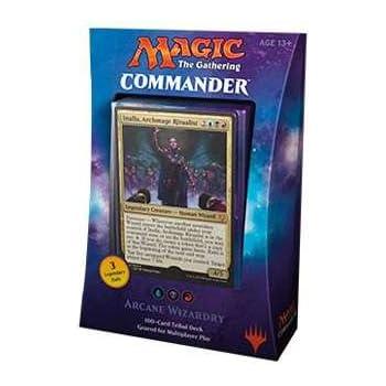 Magic The Gathering MTG Commander 2017 Deck - Arcane ... Planeswalker Arcane Wizardry