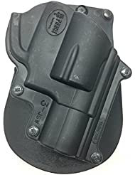 Fobus Concealed Carry Paddle Holster for S & W J Frame Modelo 60 Smith & Wesson 36, 37, 60, 442, 637, 642, 642LS, Todo envuelto martillo 38