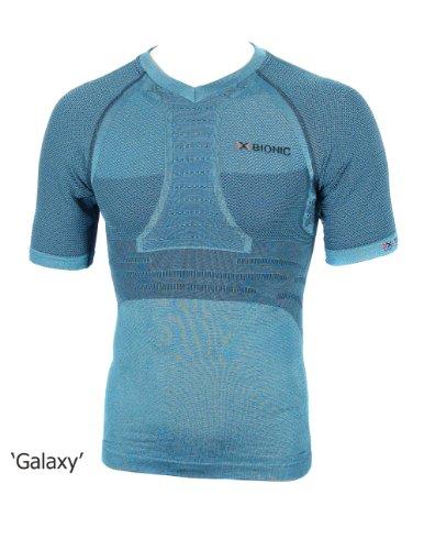 X-Bionic Erwachsene Funktionsbekleidung Running Man Fennec OW Shirt SH SL Galaxi/Blue