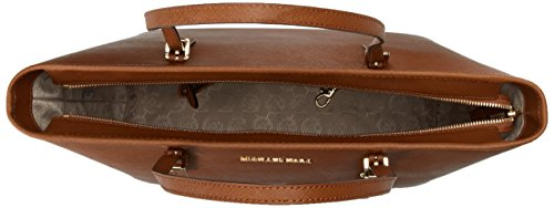 Michael Kors Jet Set Travel, Borsa Tote Donna, Marrone (Luggage), 13x27x33 cm (B x H x T)