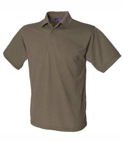 HenburyHerren Poloshirt Grün - Olive