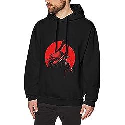 WAQL Clásico Hombres Hoodie Samurai Jack Consuelo Sudadera Black M Diseño único para El Hombre