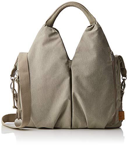 LÄSSIG Baby Wickeltasche nachhaltig inkl. Wickelzubehör nachhaltig produziert/Green Label Neckline Bag, beige/sand