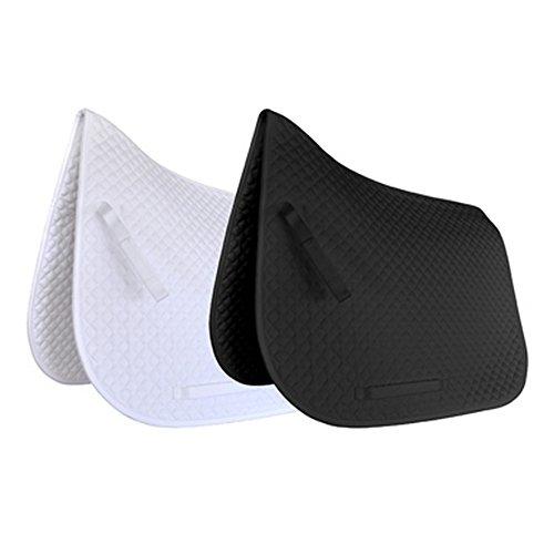 JHL Klassische Dressur-Schabracke (Warmblut) (Weiß)