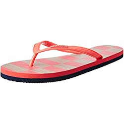 United Colors of Benetton Women's Tangerine Tango Flip-Flops and House Slippers - 7 UK/India (41 EU)