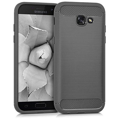 kwmobile Samsung Galaxy A5 (2017) Hülle - Handyhülle für Samsung Galaxy A5 (2017) - Handy Case in Anthrazit