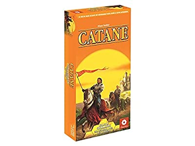Asmodee - FICAT08 - Catan - Villes et Chevaliers 5/6joueurs