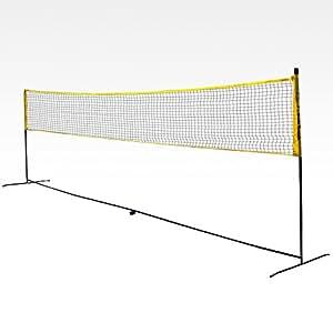 filet de badminton portable de taille r glementaire 6. Black Bedroom Furniture Sets. Home Design Ideas