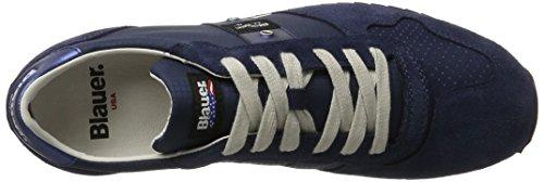 Blauer USA Runlow, Baskets Basses Homme Blau (Darkblue)