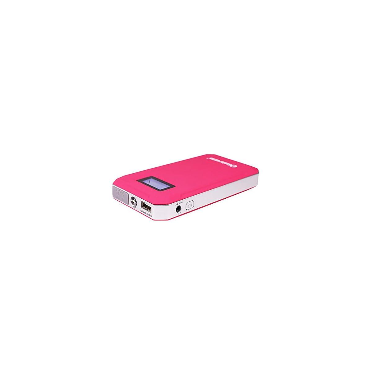 41SJMWCKLkL. SS1200  - WJJ-600A 8000mAh Mini arrancador portátil del salto del coche, paquete de reserva de la batería de la emergencia, cargador portable del banco de la energía con la linterna del LED para la tableta del teléfono y más