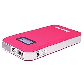 WJJ-600A 8000mAh Mini arrancador portátil del salto del coche, paquete de reserva de la batería de la emergencia, cargador portable del banco de la energía con la linterna del LED para la tableta del teléfono y más