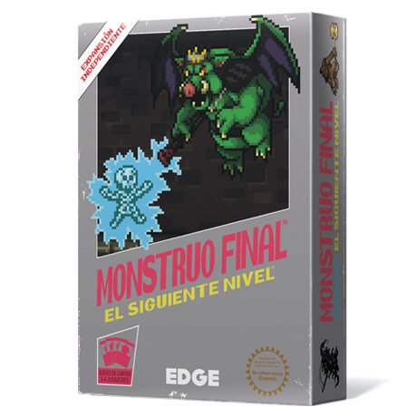 MONSTRUO FINAL   EL SIGUIENTE NIVEL  JUEGO DE MESA (EDGE ENTERTAINMENT EEBWBM02)