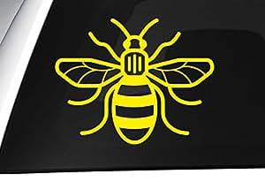 Manchester Bee Vinyl Decal Westandtogether Car
