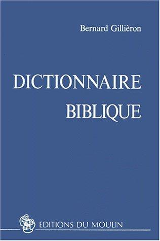 Dictionnaire biblique