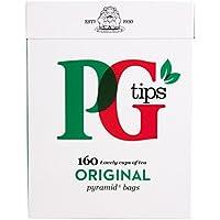 PG Tips Pyramid 160 Btl. 500g - Schwarzer Tee im Pyramid® Teebeutel
