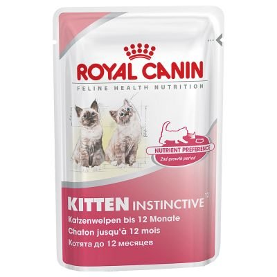 Royal Canin Kitten Instinctive Frischebeutel 24er Multipack (2 x - Kitten Royal Canin Nassfutter