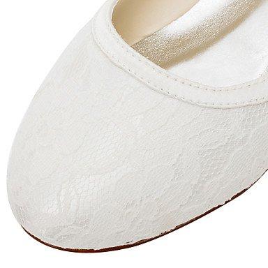 Confortevole ed elegante piatto scarpe donna Appartamenti Primavera / Estate altri raso elasticizzato Wedding / Party & sera abito / tacco piatto avorio Altri Altri Ivory