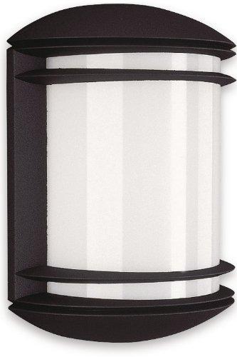Philips 01465/30/46 myGarden Wall Light (Black and Aluminium)