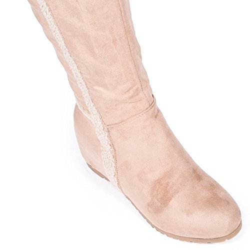 Ideal Shoes ,  Stivali donna Beige