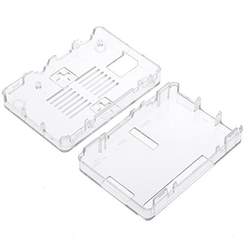 41SJOvQ%2BBzL - Zacro 3-EN-1 Kit - Kit para Raspberry Pi 3 Modelo B Caja, Cargador y Incluye el Disipador de Calor