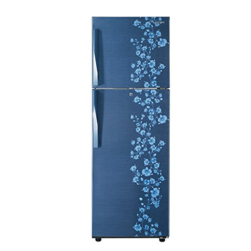 Samsung RT27HAJSAPX/TL Frost-free Double-door Refrigerator (253 Ltrs, 3 Star Rating, Orcherry Pebble Blue)