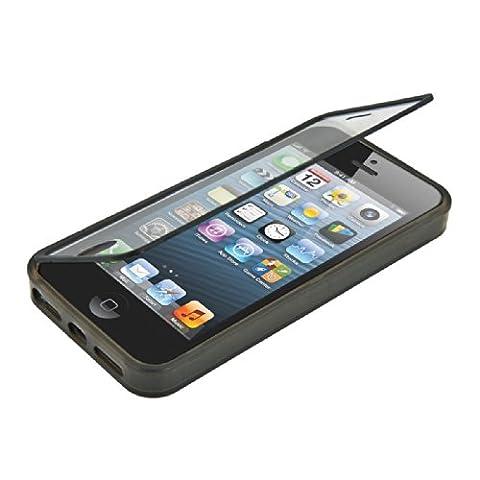 kwmobile Pratique et robuste protection Full Body de TPU silicone pour le Apple iPhone SE (Robusto Silicone)