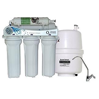 41SJPCrU2GL. SS324  - Equipo domestico de Osmosis Inversa 5 Etapas sin bomba water quality