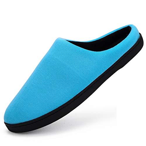 Zapatillas de casa de Hombre Mujer Zapatillas de Invierno Antideslizante Zapatillas de Estar por casa Cálido Confortables Slippers Pareja Zapatos 36-47