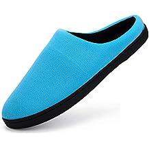 Pantofole da casa Uomo Inverno Ciabatte da Donna per casa Pantofole Calde  Peluche Morbido Interne Antiscivolo a03a82436a5