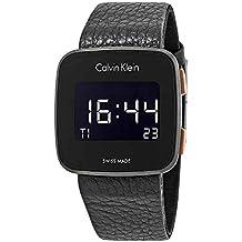 181397025af2 Calvin Klein Reloj Hombre de Digital con Correa en Cuero K5C11XC1