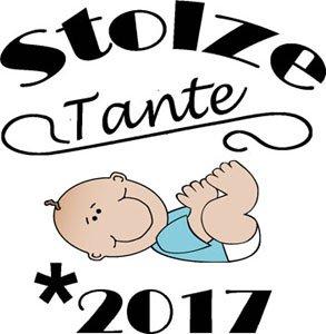 Mister Merchandise Herren Men T-Shirt Stolze Tante - 2017 Tee Shirt bedruckt Navy