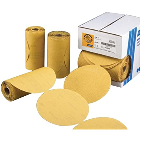 Norton 662611-83817 Gold Reserve 6 P120B PSA Disc Roll, (100 Discs/Roll) by Norton Abrasives - St. Gobain